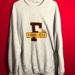Vintage Minnesota fergus falls sweatshirt